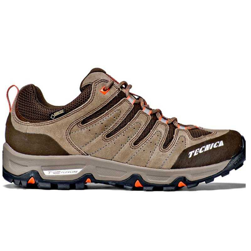 TEMPEST LOW GTX MS - GRIS CHAUD ORANGE