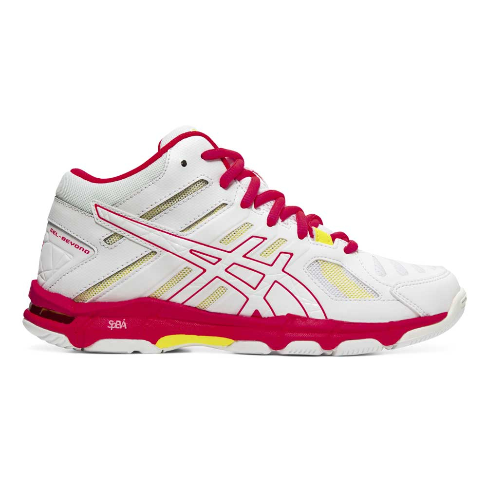 Chaussures Indoor Gel Beyond 5 MT - White / Laser Pink