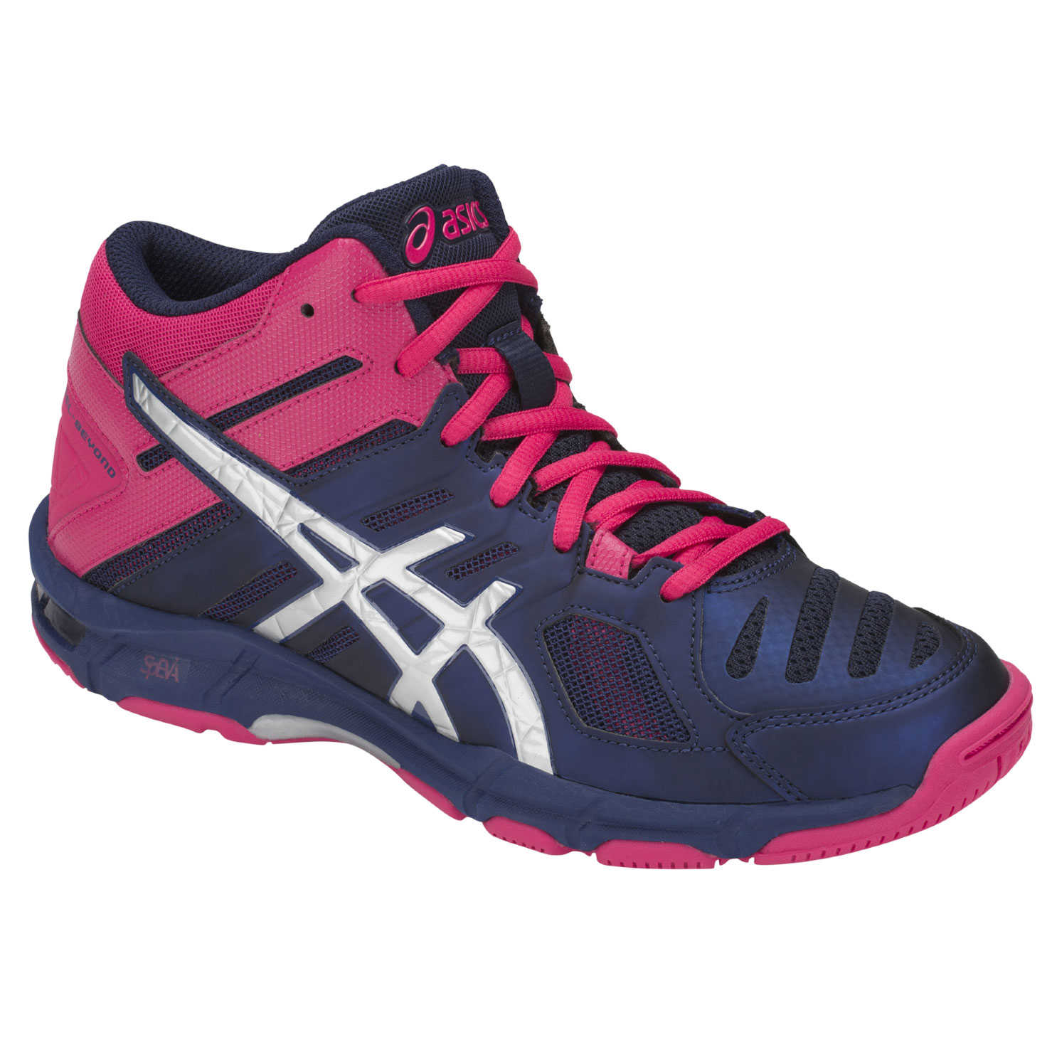 Chaussures de Volleyball Gel-Beyond 5 MT - Blue Print Silver