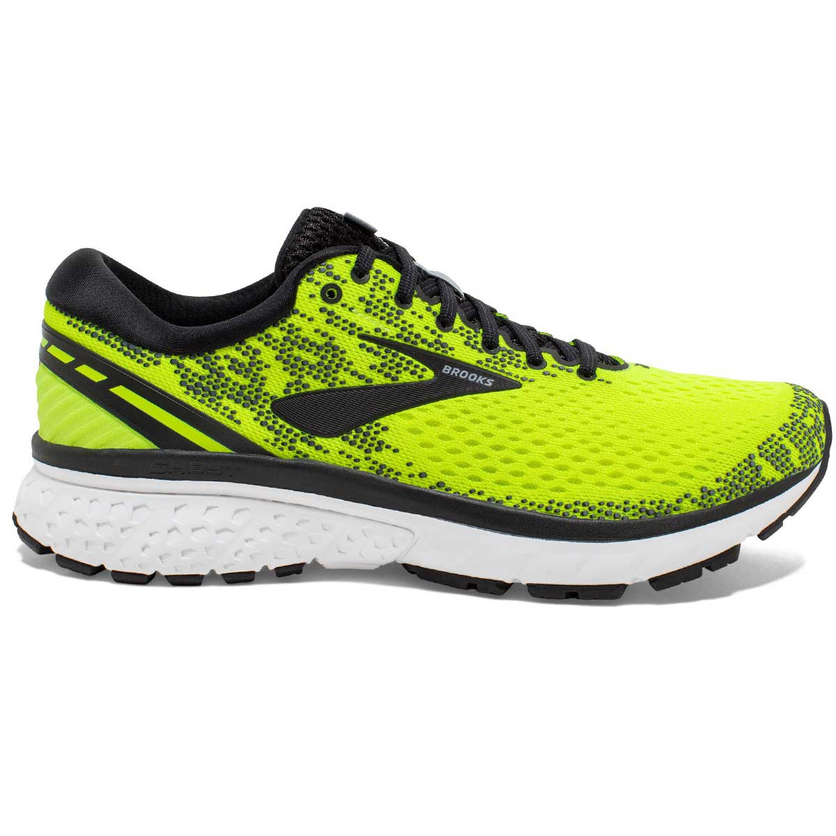 Chaussure de Running Ghost 11 - NightLife Black White