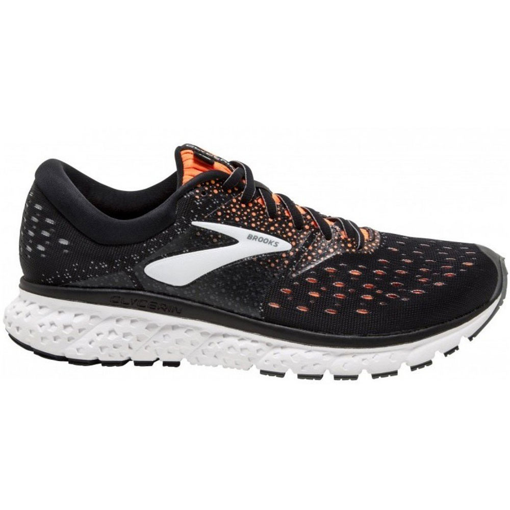 Chaussures Running Homme Glycerin 16 - Black/Orange/Grey