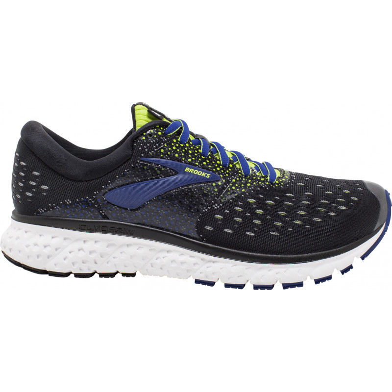 Chaussure de Running Glycerin 16 - Black Lime Blue