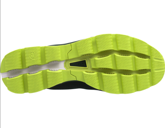 Chaussure de running Cloudsurfer - Jungle/Lime