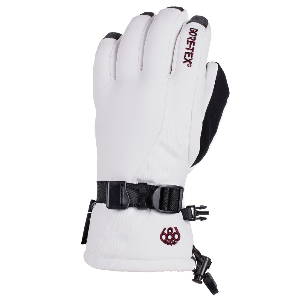 Gants de Ski Women's GORE-TEX Linear Glove - White 0