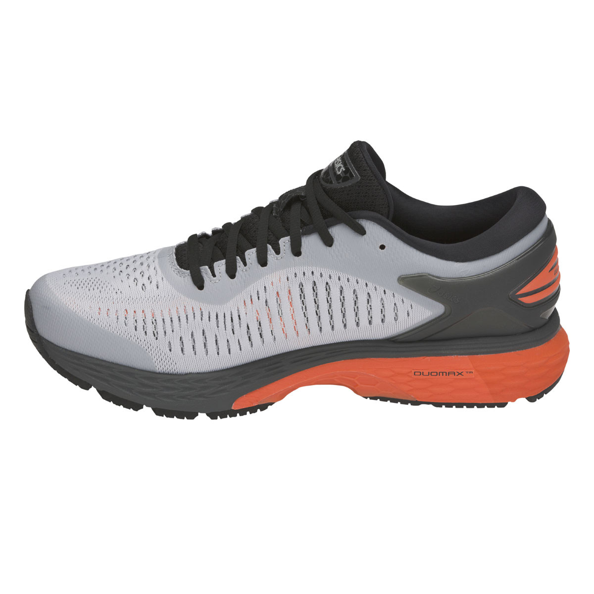 Chaussure de running Gel Kayano 25 - Mid Grey/Nova Orange 2