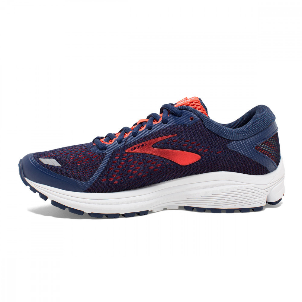 Brooks  Aduro 6 - Blue Coral White 2