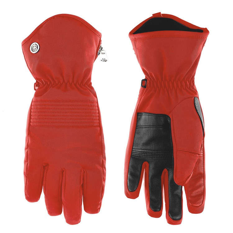 Gants de Ski Stretch - Scarlet Red 0