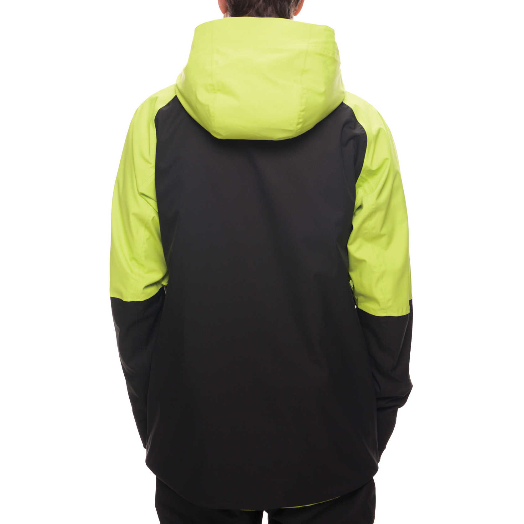 Veste de snowboard GLCR Hydra Thermagraph Jacket - Lime Twill Color Block 1