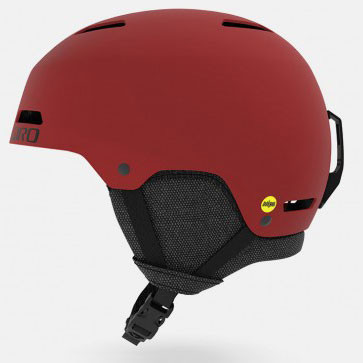 Casque de Ski Ledge MIPS - Matte Dark Red 0