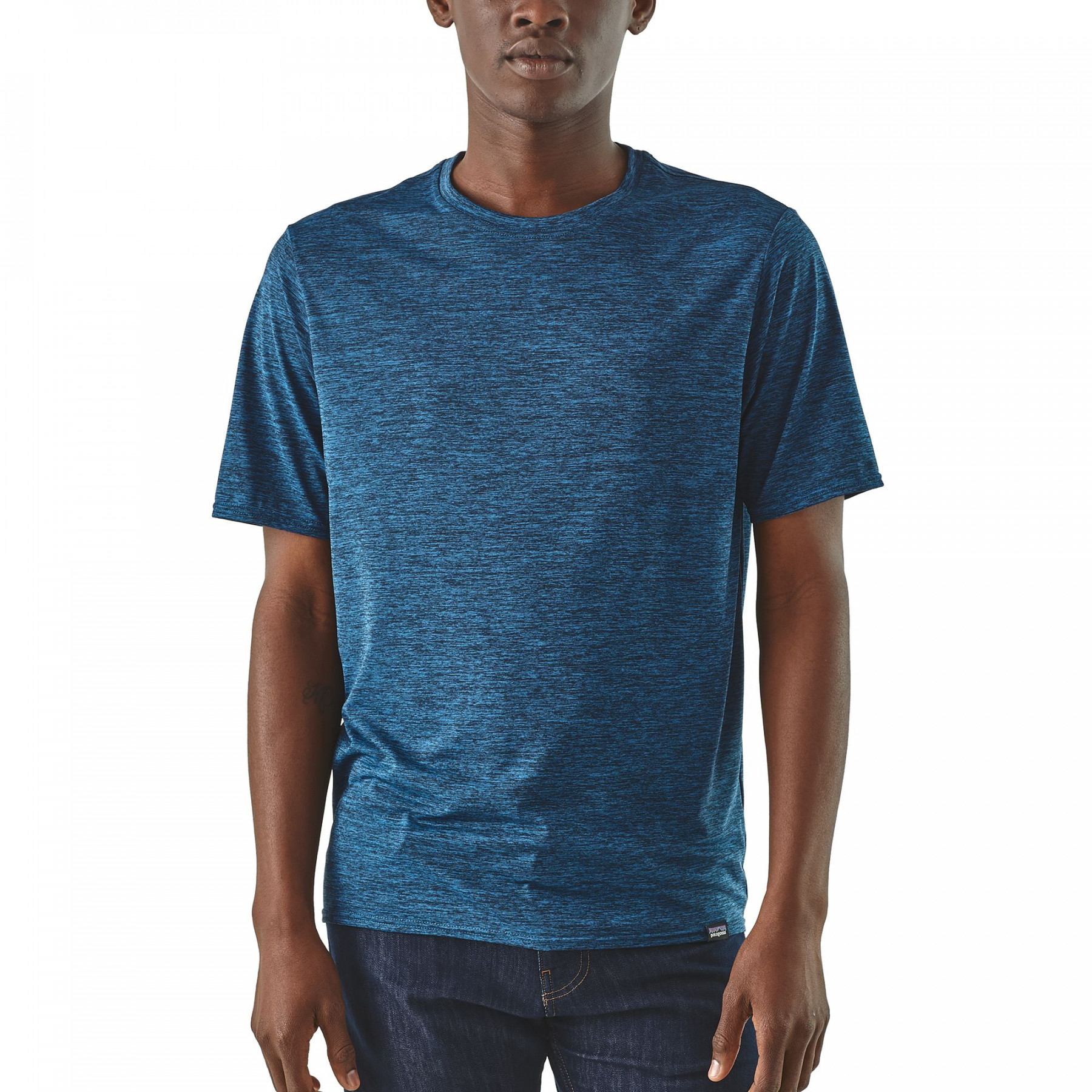 T-shirt Men's Capilene Cool Daily Shirt Bleu 1
