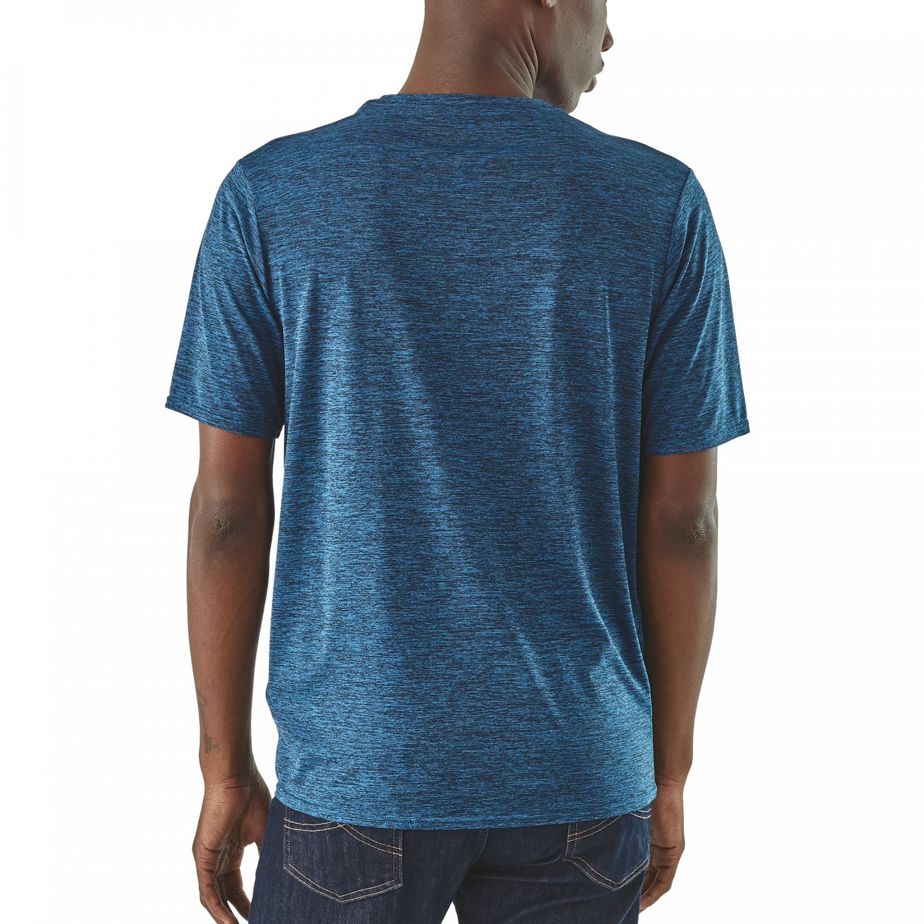 T-shirt Men's Capilene Cool Daily Shirt Bleu 2