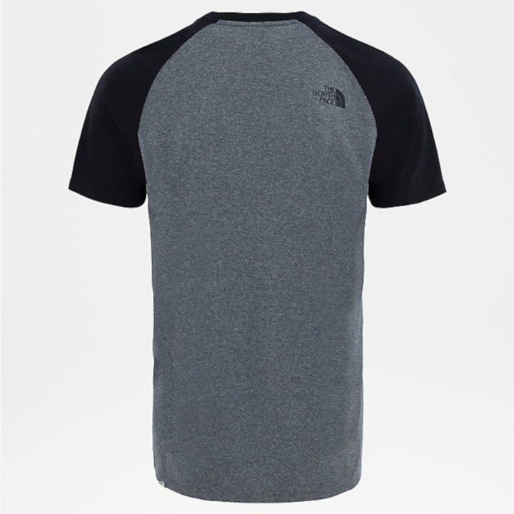 T-Shirt de Randonnée Raglan Easy - TNF Medium Grey Heather 1