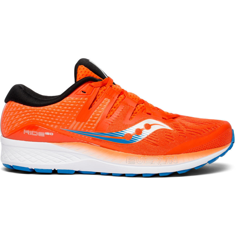Chaussures running RIDE ISO Orange/Bleu 2
