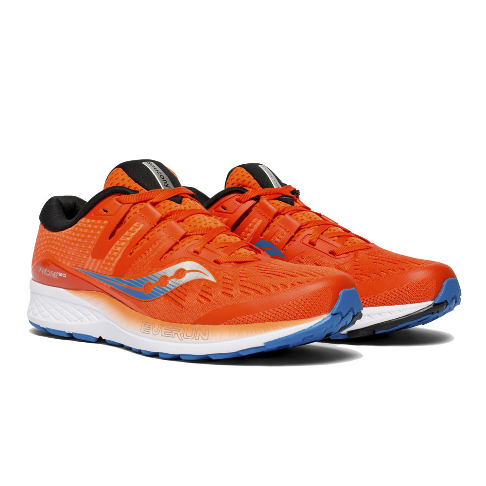 Chaussures running RIDE ISO Orange/Bleu 1