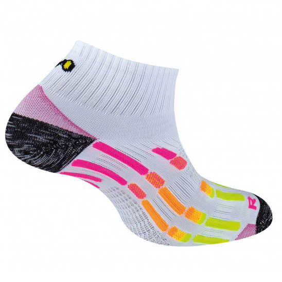 Chaussettes de sport Pody Air Run - Blanc Rose 0