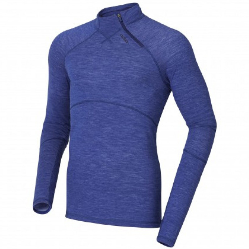 T-shirt ML Revolution Tw Warm Zip - Bleu