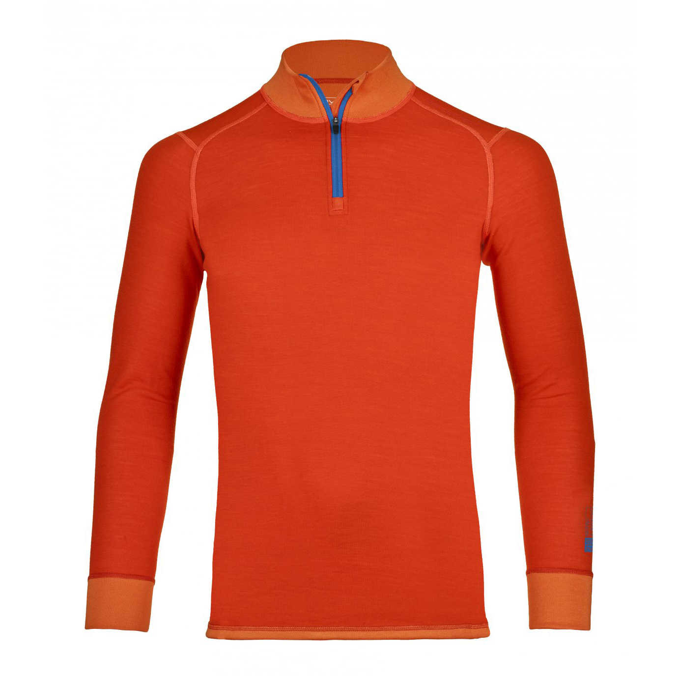 Sous vêtement 210 Supersoft Zip Neck M - Crazy Orange