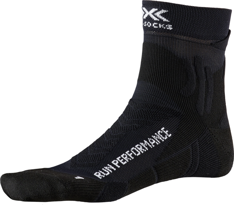 Chaussettes X-Socks Run Performance Noir