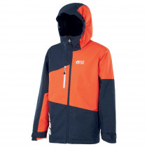 Veste de ski Milo Jacket – Dark Blue Orange