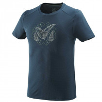 T-shirt M Logo 2 SS bleu Orion Blue