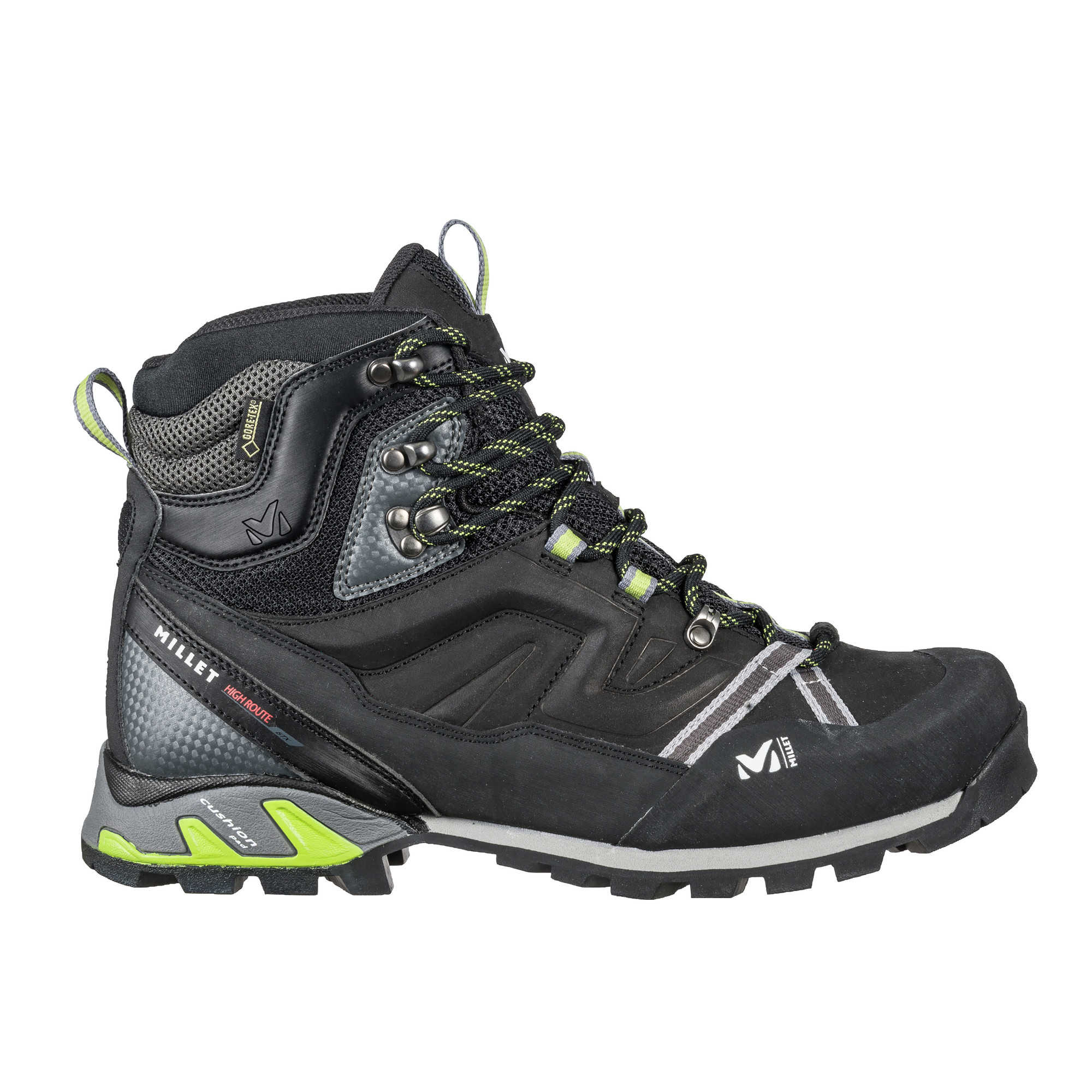 Chaussure High Route GTX - Charcoal/Acid Green