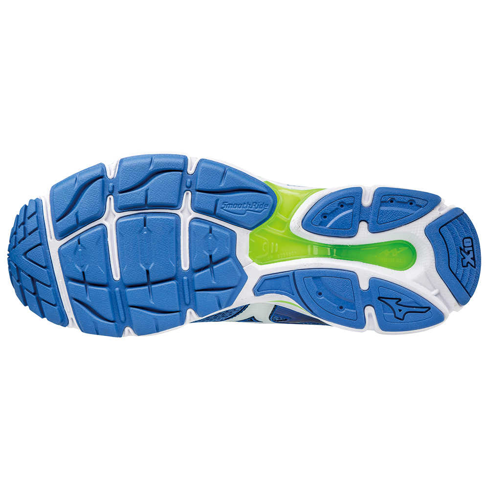 Wave Ultima 8 - Strong Blue White Green Gecko