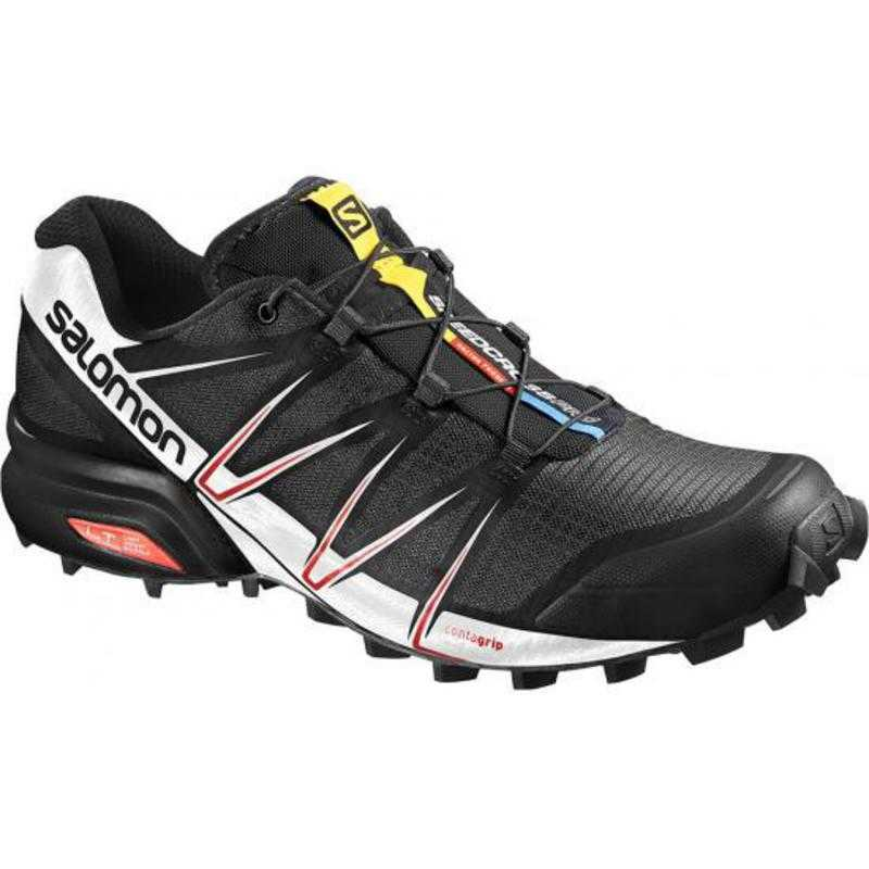 Chaussures Trail Homme Speed Cross Pro - Black/White/Red