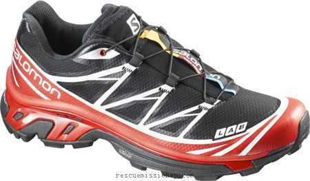 S-Lab Xt 6 Softground - Black/Racing Red/White