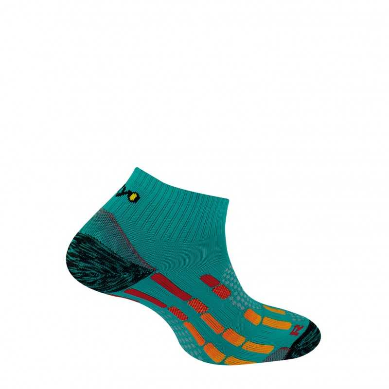Chaussettes Pody Air Run - Emeraude